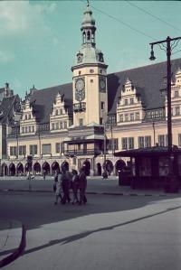 Bild 25A, Markt mit Altem Rathaus, 1941