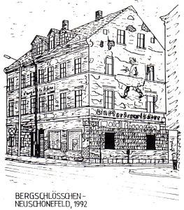 Restaurant Bergschlößchen, Leipzig-Neuschönefeld, 1992