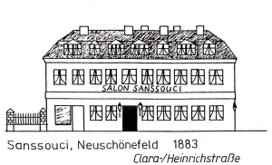 Restaurant Sanssouci, Leipzig-Neuschönefeld, 1983