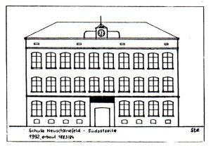 Berufsschule, Leipzig-Neuschönefeld, 1992
