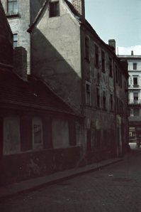 L.-Naundörfchen, Häuser an der Einmündung zum Ranstädter Steinweg, 1040