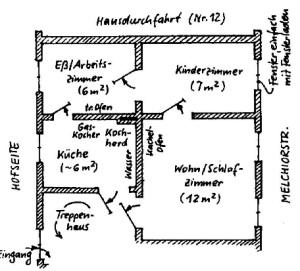 L.-Neuschönefeld, Melchiorstr. 14, Erdgeschoss