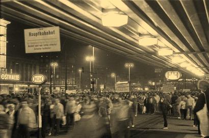 Haltestellenbereich am Hauptbahnhof