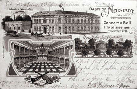 L.-Neustadt, Gasthof Neustadt, um 1910