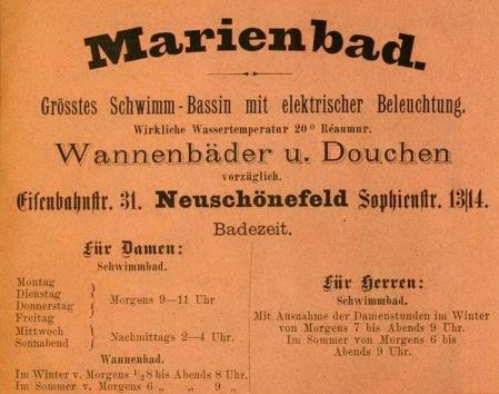 Marienbad.Neuschönefeld.1888
