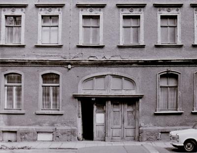 L.-Neustadt, ältestes Wohnhaus: Neustädter Str. 20 mit Kataster-Nr.1 im April 1989