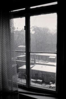 """L.-Neustadt,  ,,weiße Weihnachten"""" 1986"""