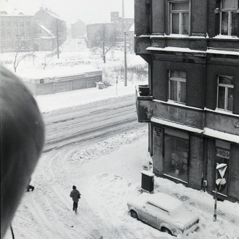 L.-Neustadt, Neustädter/ E.-Thälmann-Straße am 10.01.'87