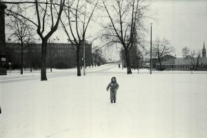L.-Schönefeld, Mariannenpark / Stannebeinplatz, 24. Dezember 1978