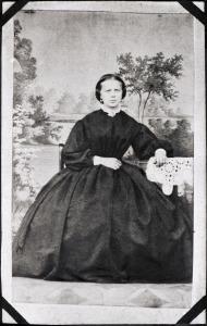 Friederike Pauline Neumann,<br> im Jahr 1866 in Döbeln