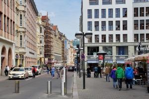 Leipzig, Katharinenstraße, im Mai 2015