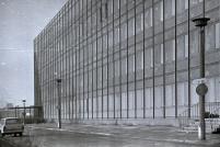 Fassade vom Arbeiterwohnheim