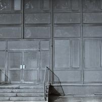 Eingang zum Wohnheim