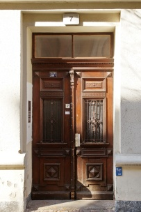 Haustür, Einertstraße 7