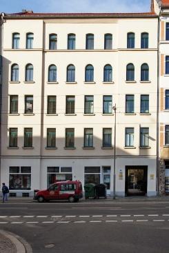 Fassade, Eisenbahnstraße 13