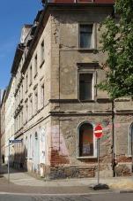Fassade, Neustädter Straße 30, altes Eckgebäude