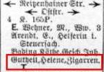 Eintrag Leipziger Adreßbuch 1942