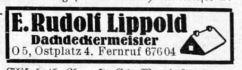 Eintrag Leipziger Adreßbuch 1943