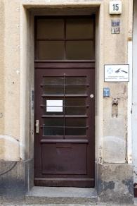 Haustür, Kapellenstr. 15
