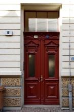 Haustür, Lilienstraße 19