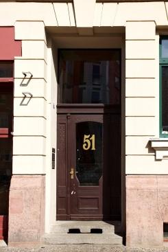 Haustür, Kohlgartenstr. 51