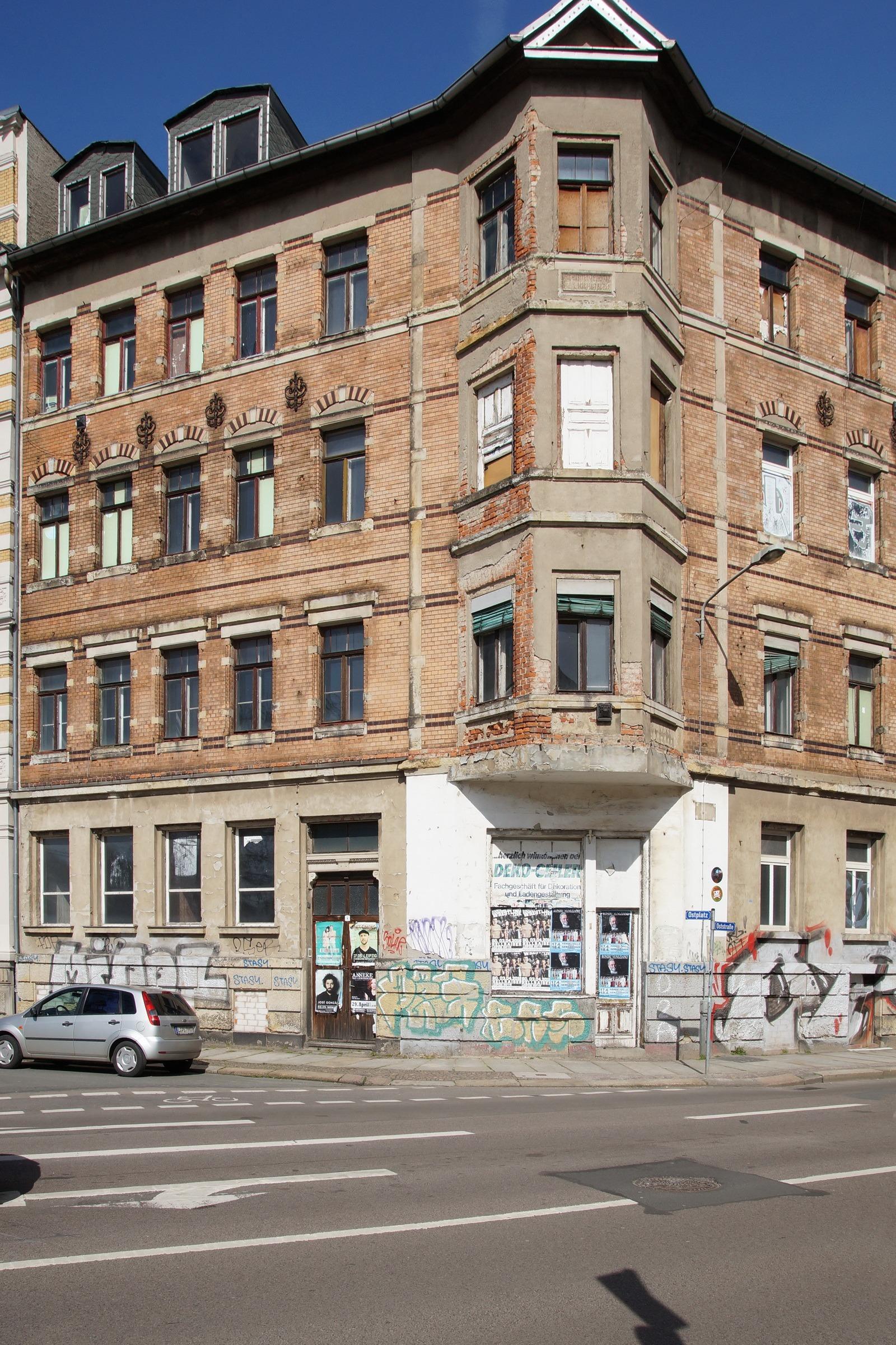 Ostplatz Leipzig exkursion zu 3 x ost wortblende