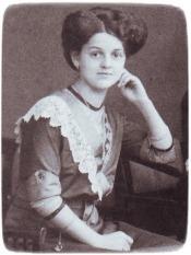 Fam.Stein_Margarete1909