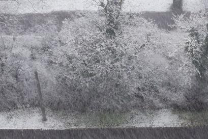 am Freitag beginnt es intensiv und langanhaltend zu schneien
