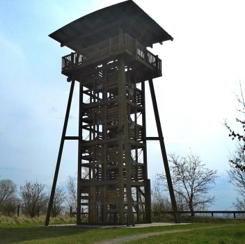 Aussichtturm auf 218 m + 14,5 m = 232,5 m